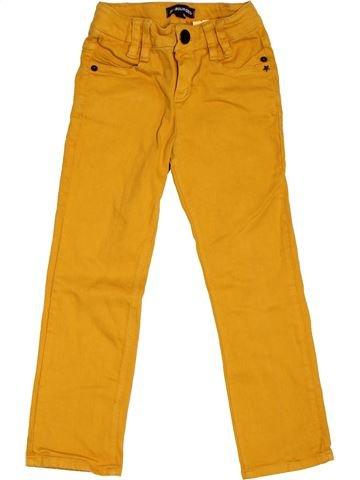 Pantalon fille JEAN BOURGET orange 6 ans été #1536052_1