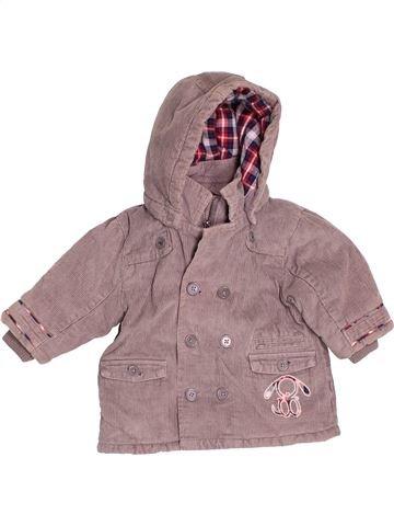 Abrigo niño OKAIDI rosa 6 meses invierno #1536509_1