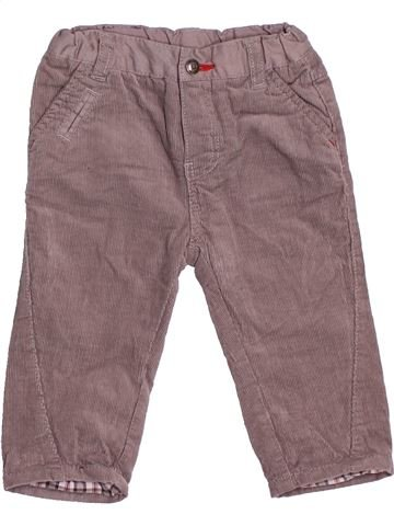 Pantalón niño OKAIDI gris 6 meses invierno #1536514_1