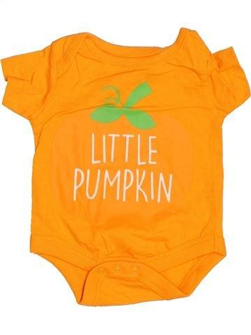 Camiseta de manga corta niño PEP&CO naranja 0 meses verano #1537360_1