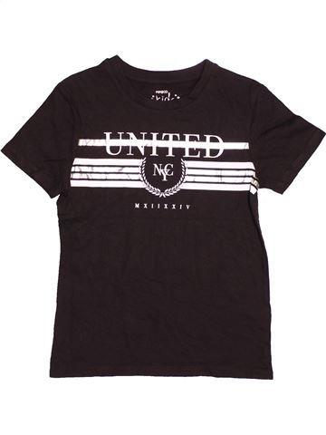 T-shirt manches courtes garçon PEP&CO marron 7 ans été #1537424_1