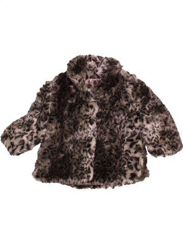 Manteau fille F&F marron 6 mois hiver #1537438_1