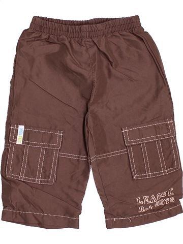 Pantalón niño SANS MARQUE marrón 12 meses invierno #1537451_1