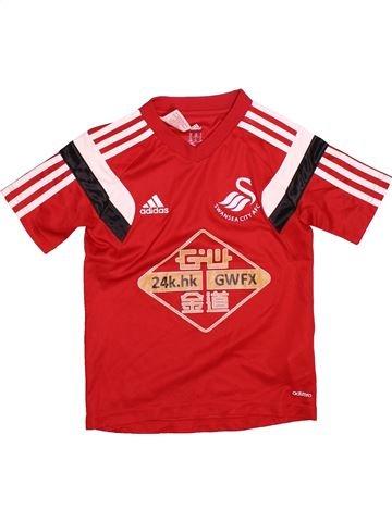 Camiseta deportivas niño ADIDAS rojo 8 años verano #1537641_1