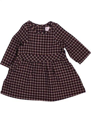 Vestido niña LA REDOUTE CRÉATION marrón 1 mes invierno #1537745_1