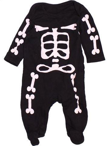Pyjama 1 pièce garçon GEORGE noir 6 mois été #1537750_1
