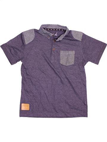 Polo manches courtes garçon PRIMARK violet 11 ans été #1537820_1