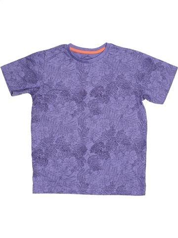 Camiseta de manga corta niño MATALAN violeta 8 años verano #1537935_1