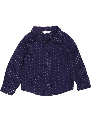 Camisa de manga larga niño M&CO azul 2 años invierno #1538092_1