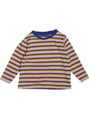Camiseta de manga larga niño NUTMEG beige 18 meses invierno #1538208_1
