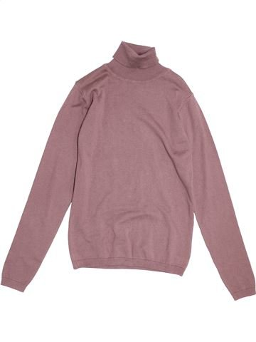 Pull fille DPAM rose 14 ans hiver #1538311_1