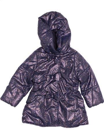 Manteau fille IKKS violet 18 mois hiver #1538370_1