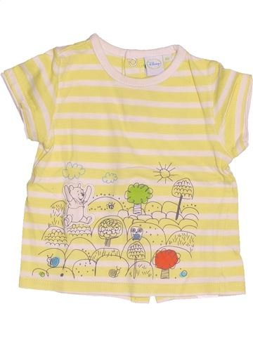 Camiseta de manga corta niña DISNEY beige 6 meses verano #1538478_1