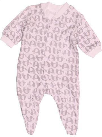Pyjama 1 pièce garçon F&F rose naissance été #1538861_1