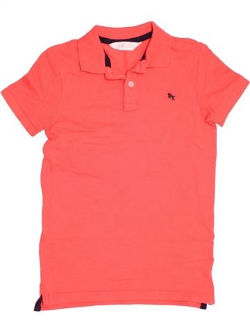 Polo manches courtes garçon H&M rose 10 ans été #1539015_1