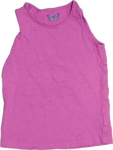 T-shirt sans manches fille MARKS & SPENCER violet 5 ans été #1539048_1