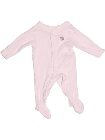 Pyjama 1 pièce garçon MARKS & SPENCER rose naissance été #1539188_1