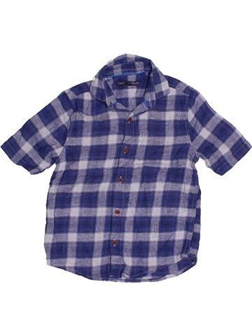 Chemise manches courtes garçon NEXT bleu 6 ans été #1539359_1