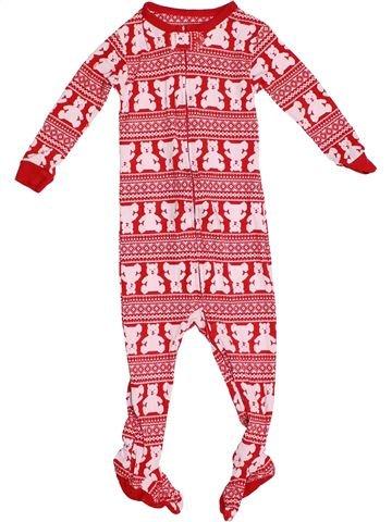 Pyjama 1 pièce fille GAP rose 18 mois été #1539688_1