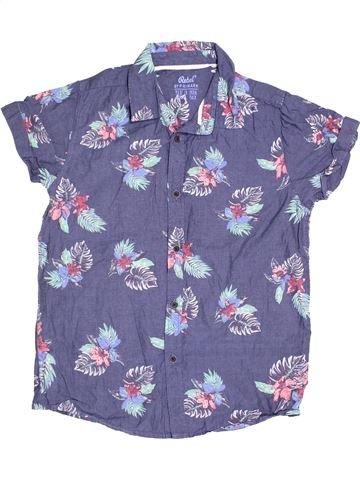 Chemise manches courtes garçon PRIMARK violet 13 ans été #1539709_1