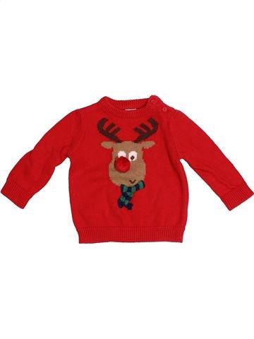 jersey niño F&F rojo 6 meses invierno #1539824_1