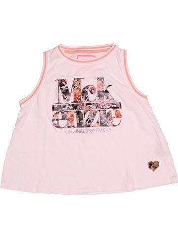 T-shirt sans manches fille MC KENZIE rose 12 ans été #1539825_1