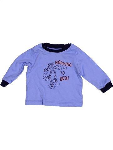 Camiseta de manga larga niño GEORGE violeta 6 meses invierno #1539837_1
