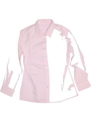 Chemise manches longues garçon F&F rose 11 ans hiver #1539901_1