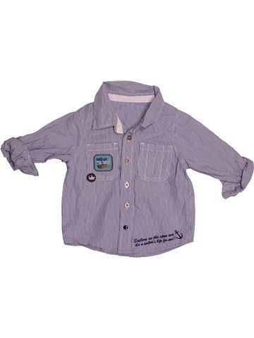 Camisa de manga larga niño MARKS & SPENCER gris 18 meses invierno #1539951_1