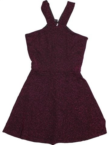 Robe fille NEW LOOK marron 13 ans hiver #1539972_1