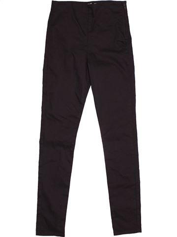 Pantalon fille H&M marron 12 ans été #1540075_1