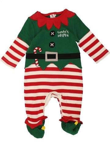 Pyjama 1 pièce garçon TU rose 3 mois été #1540310_1