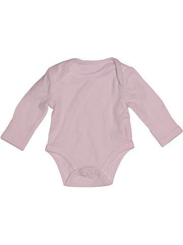 Camiseta de manga larga unisex SANS MARQUE rosa 1 mes invierno #1540377_1