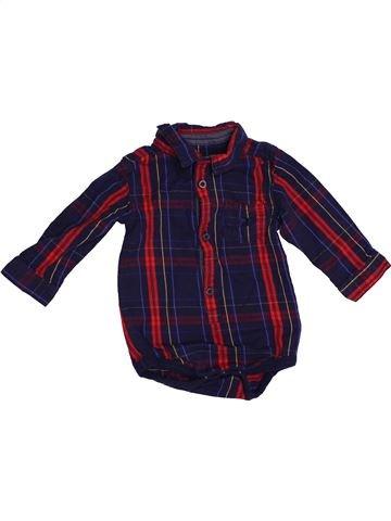 Camisa de manga larga niño NUTMEG violeta 12 meses invierno #1540440_1