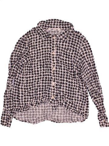 Blouse manches longues fille H&M gris 11 ans hiver #1540507_1