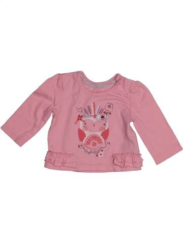 Camiseta de manga larga niña EARLY DAYS rosa 3 meses invierno #1540653_1