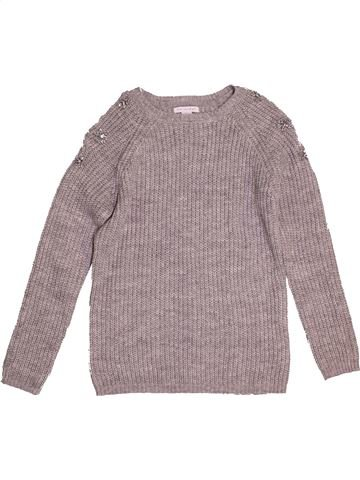 Pull fille PRIMARK gris 12 ans hiver #1540711_1