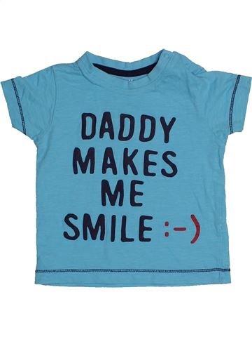 Camiseta de manga corta niño NUTMEG azul 12 meses verano #1540754_1