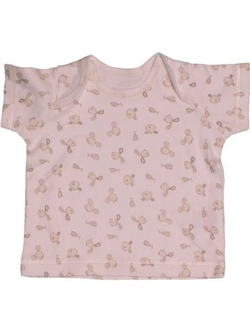Camiseta de manga corta niño MATALAN rosa 0 meses verano #1541115_1