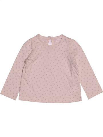 Camiseta de manga larga niña F&F rosa 9 meses invierno #1541139_1