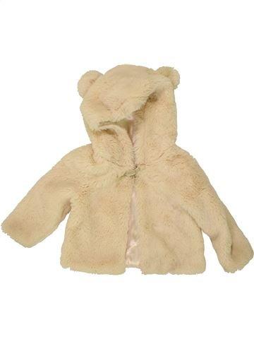 Veste fille MONSOON beige 12 mois hiver #1541157_1