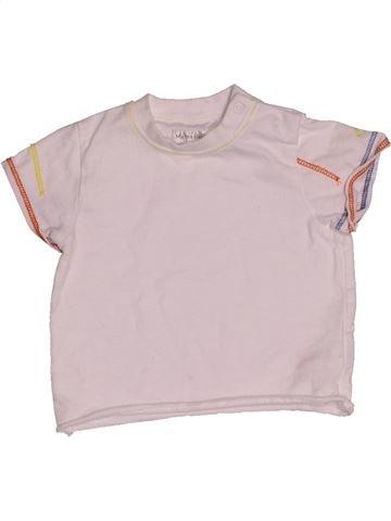 Camiseta de manga corta niño MAMAS & PAPAS rosa 6 meses verano #1541533_1