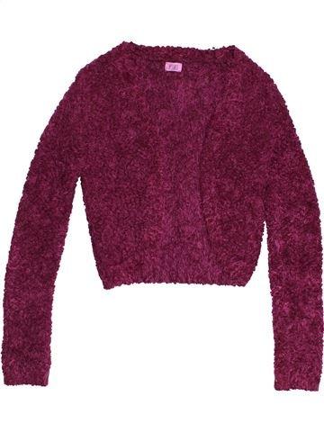 Chaleco niña F&F violeta 12 años invierno #1541641_1