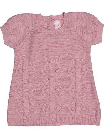 Vestido niña NEXT rosa 3 meses invierno #1541650_1