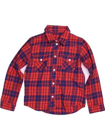 Camisa de manga larga niño SANS MARQUE violeta 9 años invierno #1541675_1