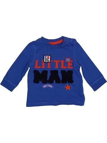 Camiseta de manga larga niño F&F azul 3 meses invierno #1541693_1