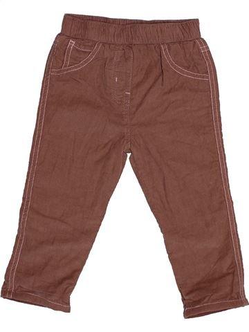Pantalón niña GEORGE marrón 18 meses invierno #1541697_1