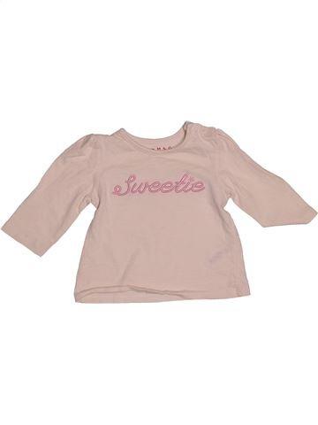 Camiseta de manga larga niña NUTMEG beige 6 meses invierno #1541933_1