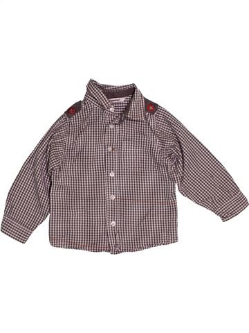 Camisa de manga larga niño 3 POMMES gris 2 años invierno #1541977_1