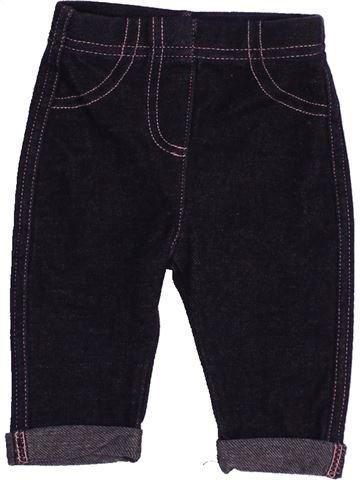 Pantalón niña GEORGE negro 3 meses verano #1542008_1